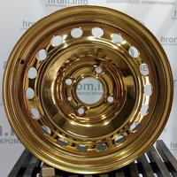 Хромирование диска в золото