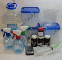 Химические реактивы и посуда для декоративного хромирования